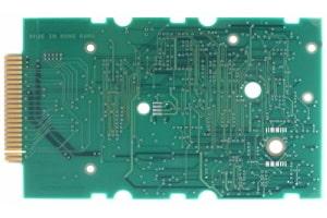 Leiterplatte für eine einseitige Bestückung mit elektronischen Bauteilen